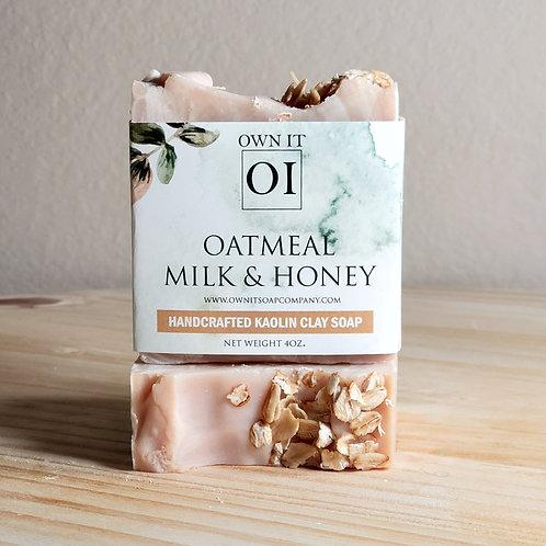 Oatmeal Milk & Honey Artisan Soap
