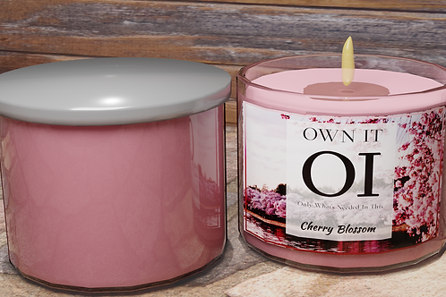 3 Wick Candle - Cherry Blossom