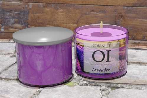 3 Wick Candle - Lavender