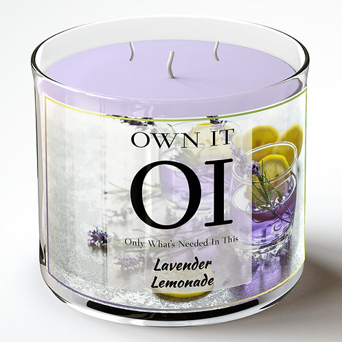 3 Wick Candle - Lavender Lemonade