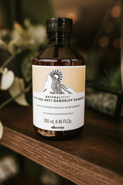 Natural Tech Purifying Anti - Dandruff Shampoo