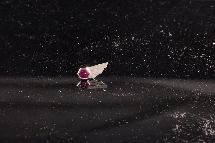 Comet Earrings - Hot Pink