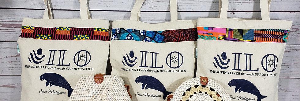 Ilosoa: African style Save Mada tote