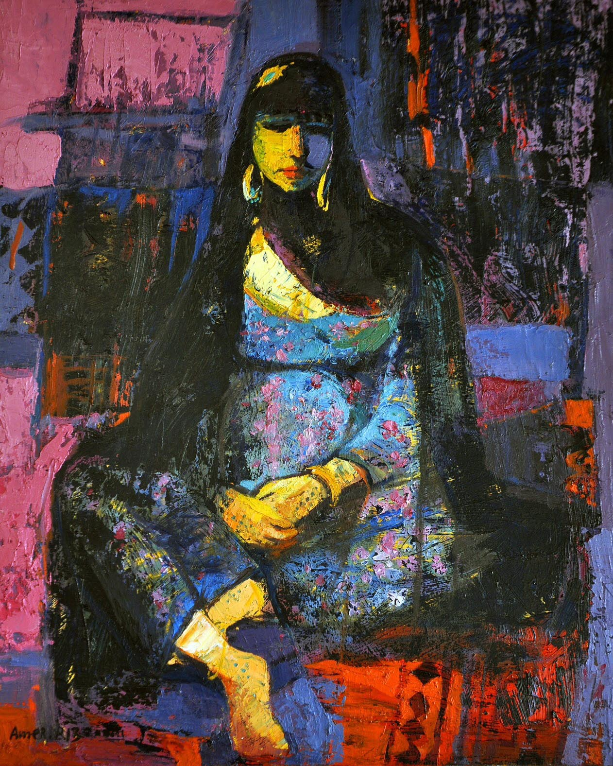 35- 65x80 cm, Oil on canvas, 2013