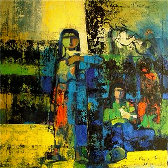 100x100 cm - Oil on canvas - 2009