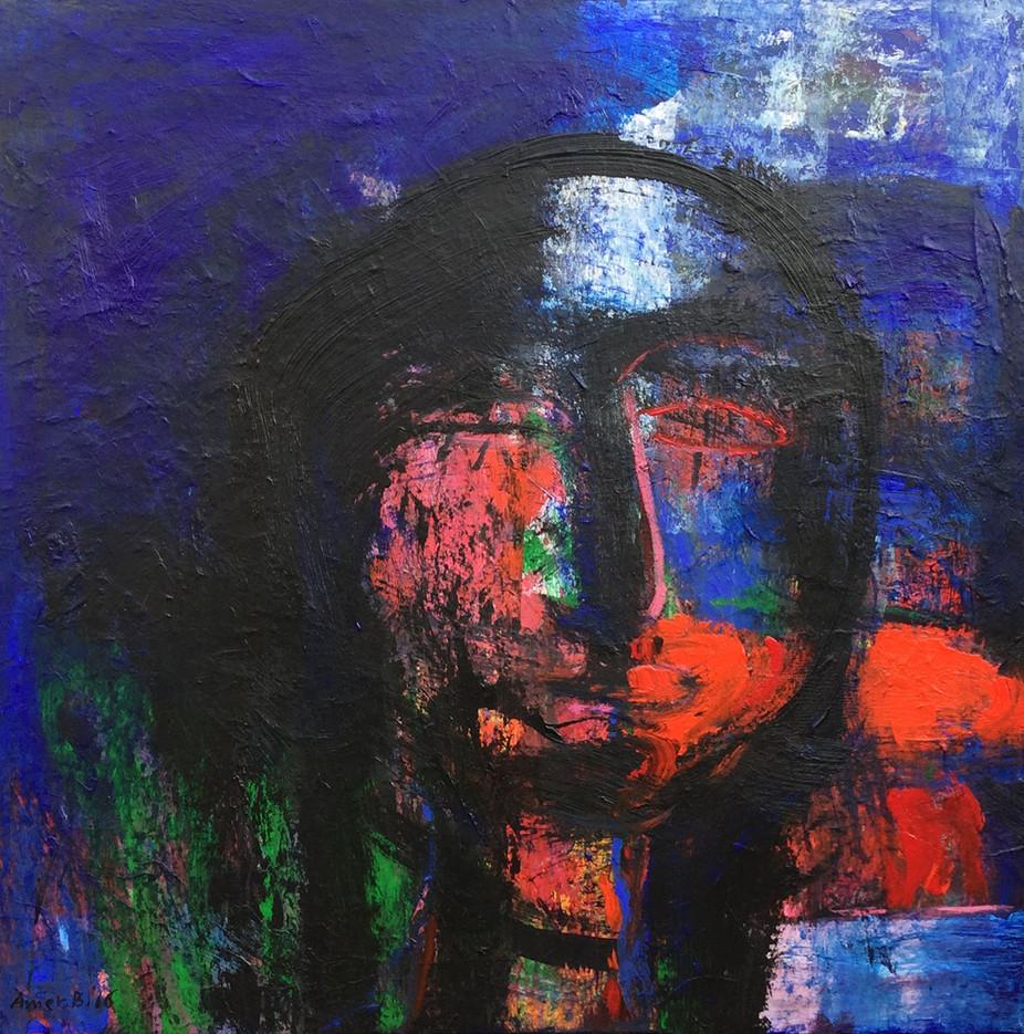 Nostalgia , 100 x100 cm  ,   Acrylic on canvas , 2016