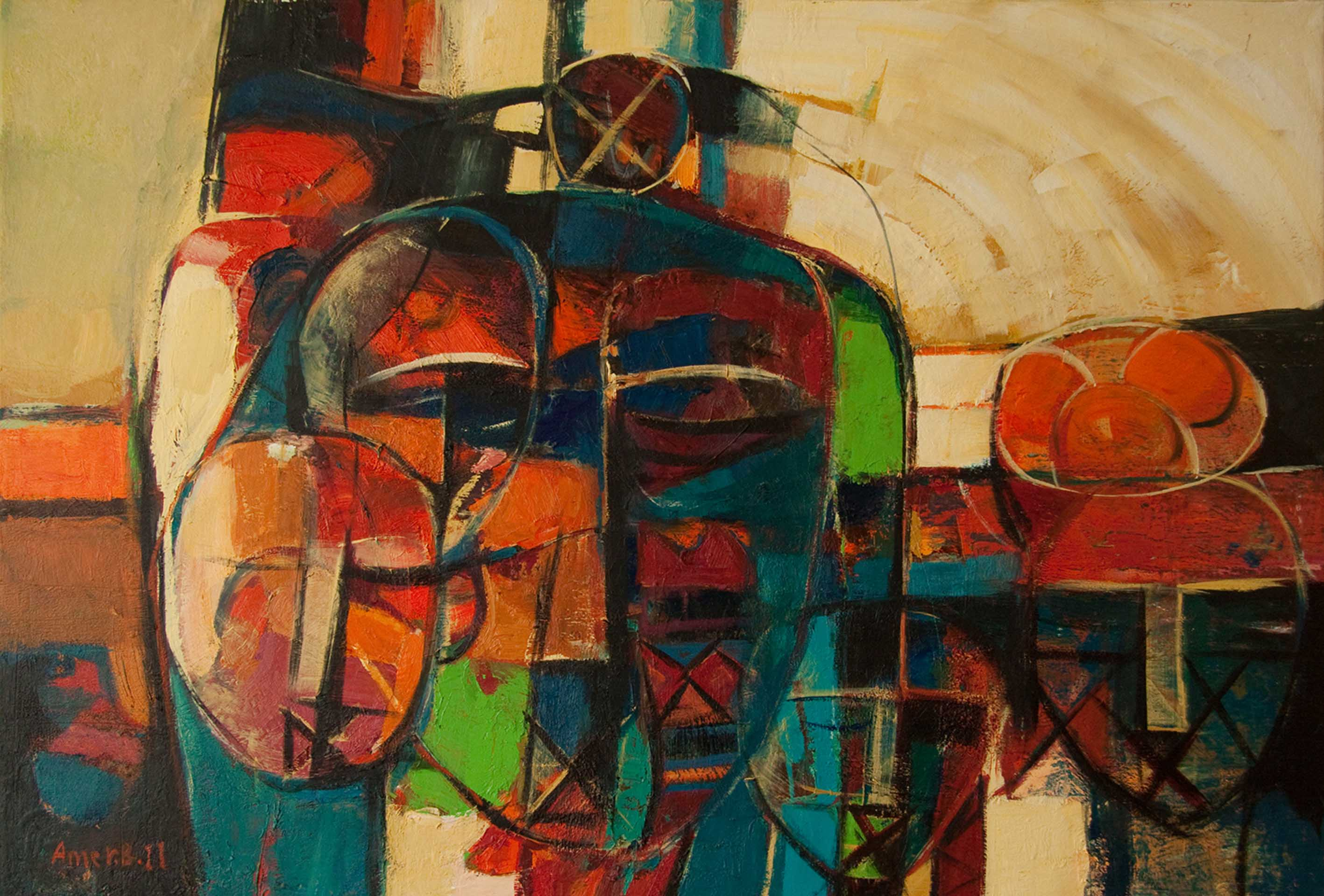41 - 100x70 cm - Oil on canvas - 2012