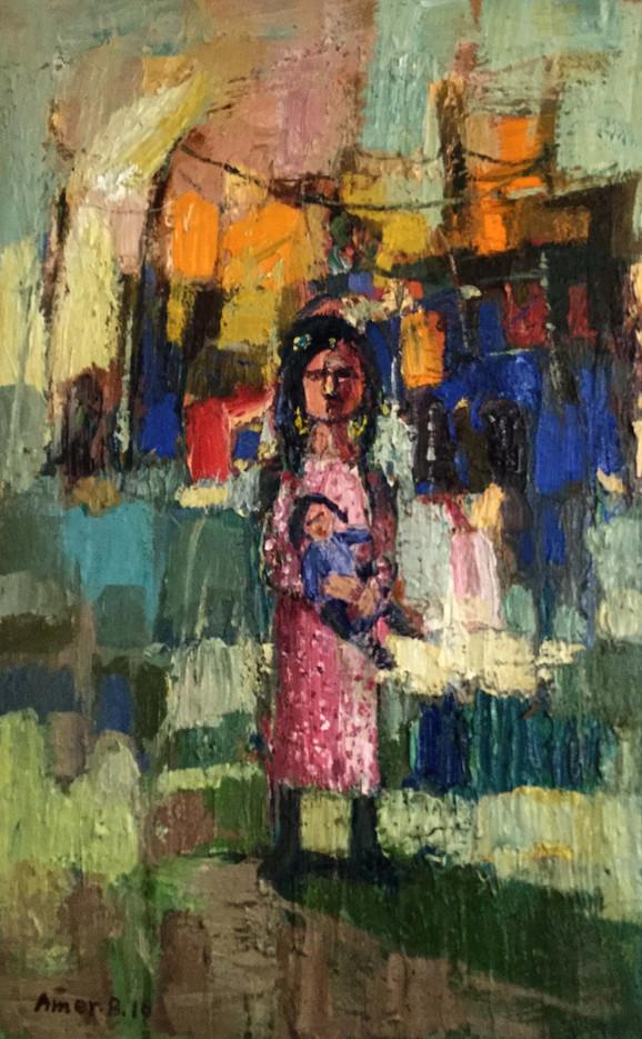 50 x 80 cm  ,  Oil on canvas  ,  2016