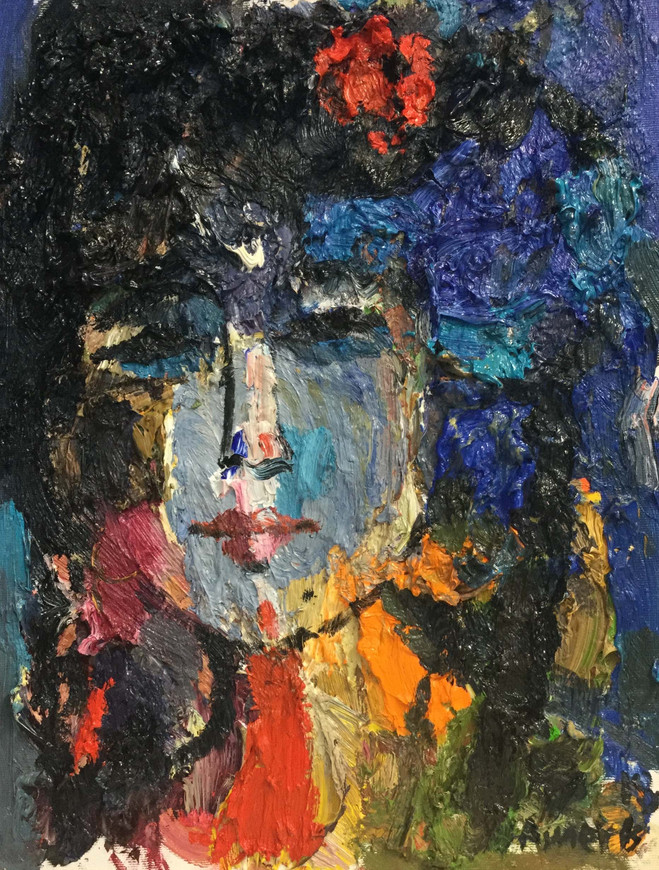 30 X 40 cm  ,  Oil on canvas  ,  2018