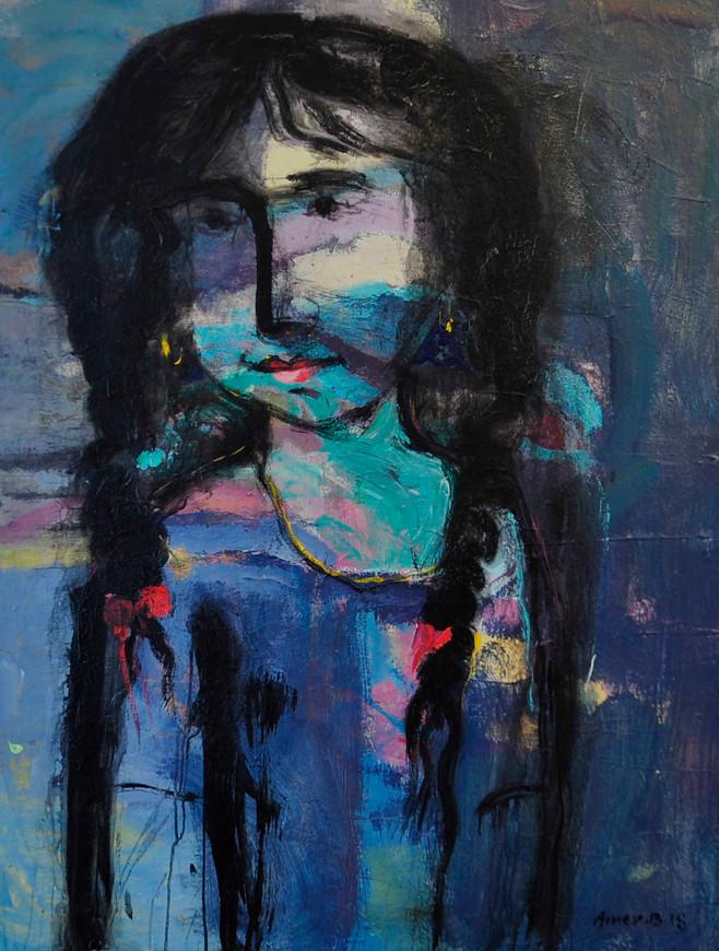 90 x 120 cm  ,  Acrylic on canvas  ,  2018
