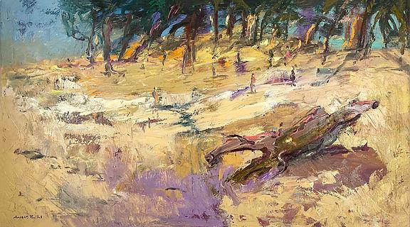 Landscape _180x100cm, Oil on canvas , 20