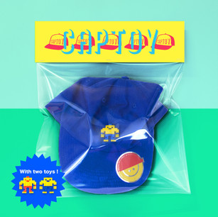 BADGE TOY-CAPTOY