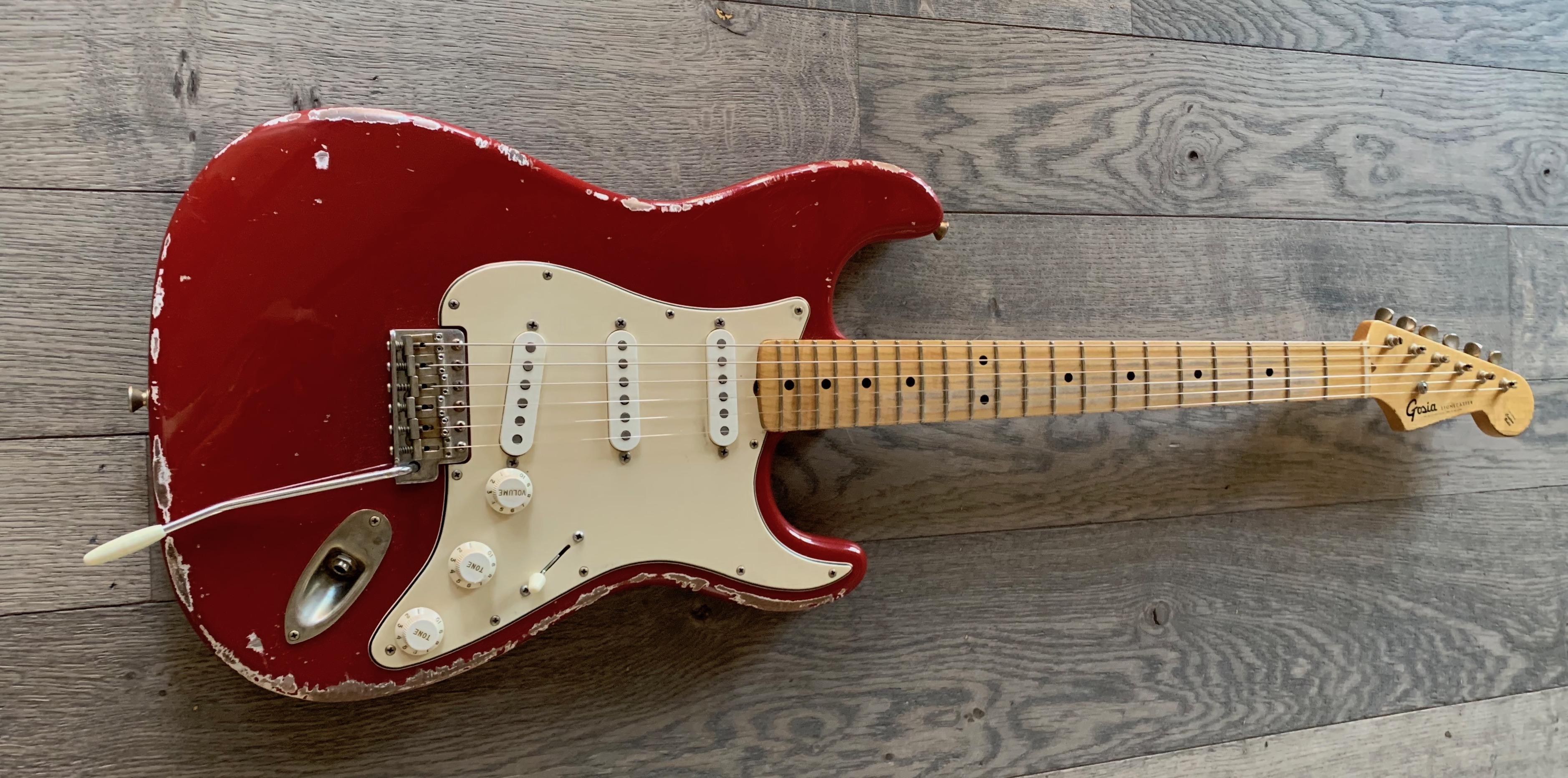 Stonecaster Dakota red