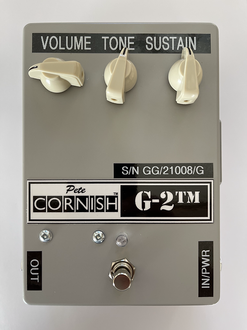 PETE CORNISH G2-tm grey series