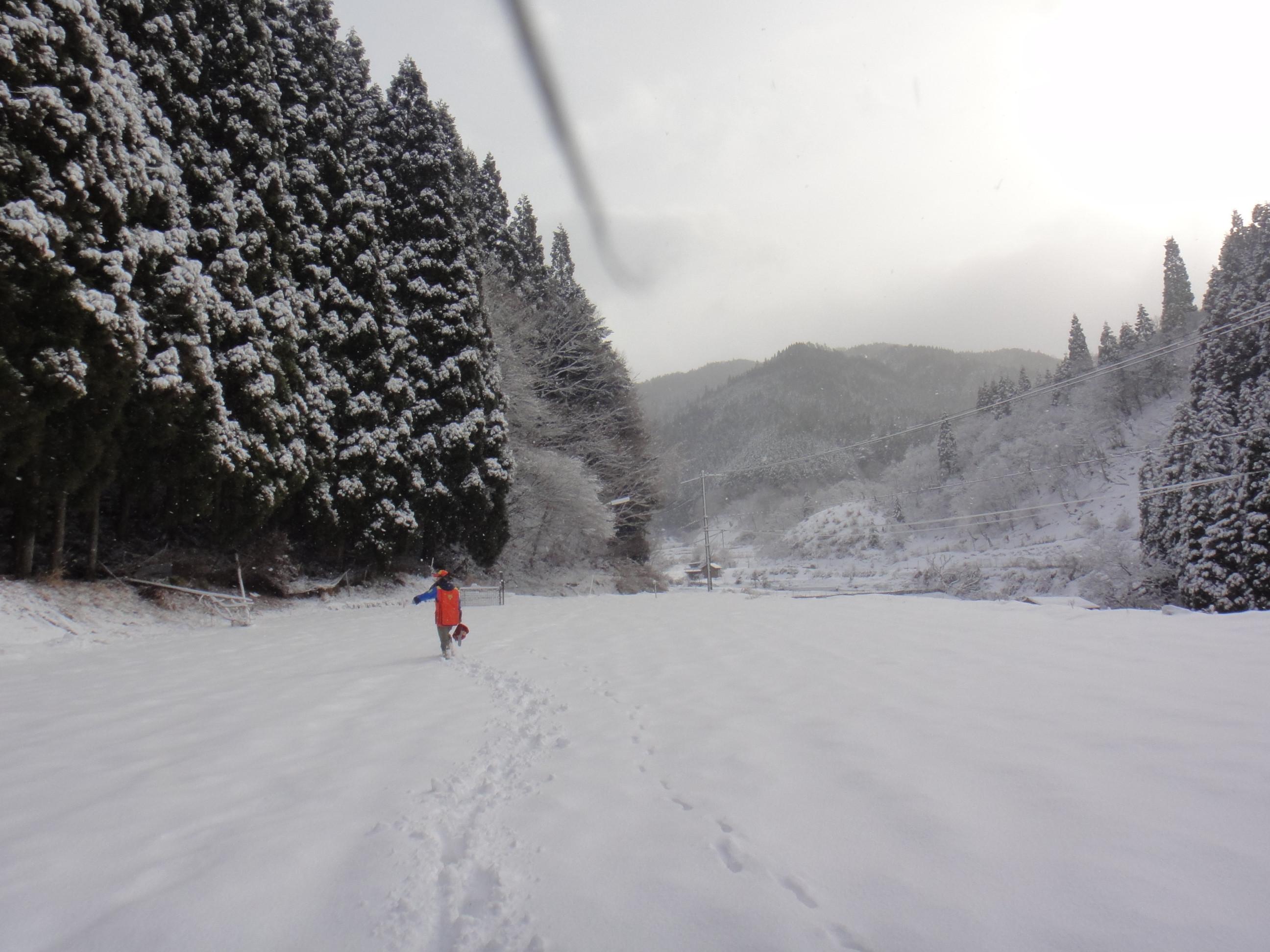 ベテラン猟師とゆく 冬の狩猟体験