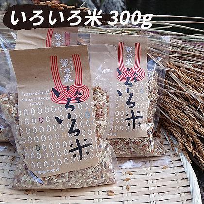 人生いろいろ米(農薬肥料不使用) 300g