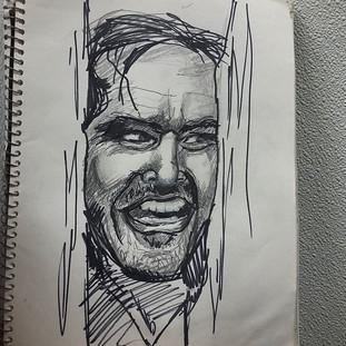 Here's Johnny! Lunchbreak sketch_._._.jpg