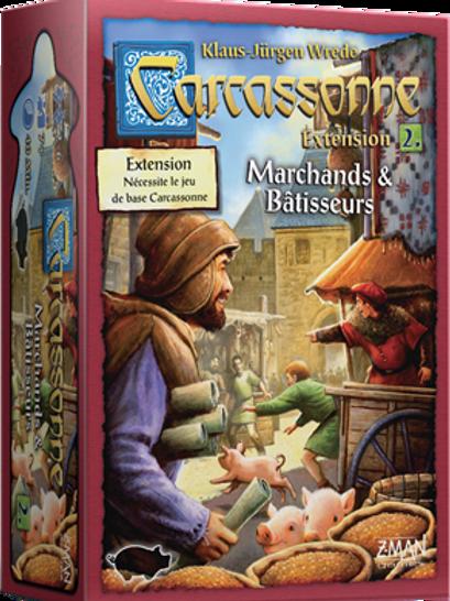 Carcassonne Ext. 2