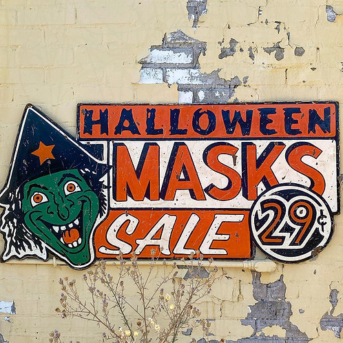 Witch Face Halloween Mask Sale