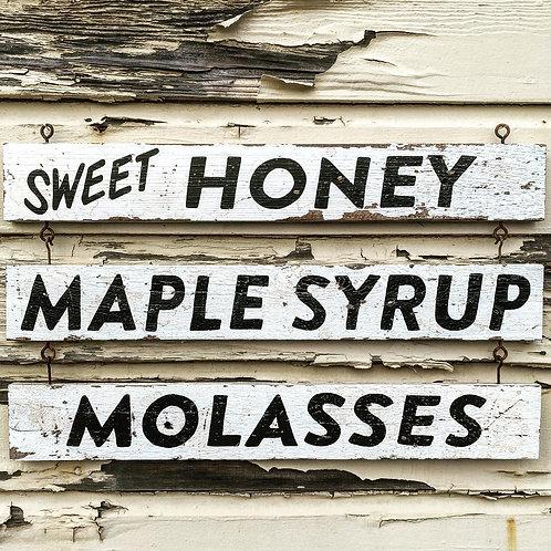 Sweet Honey-Molasses-Syrup
