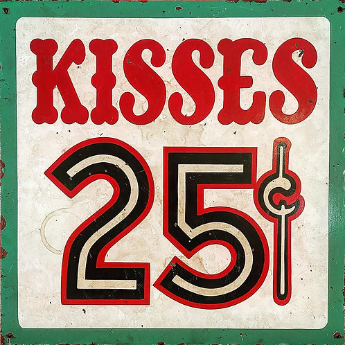 Kisses .25 Red/White