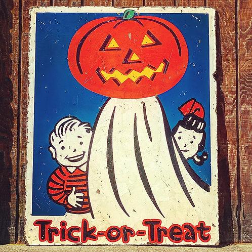 Trick or Treat - Boy & Girl
