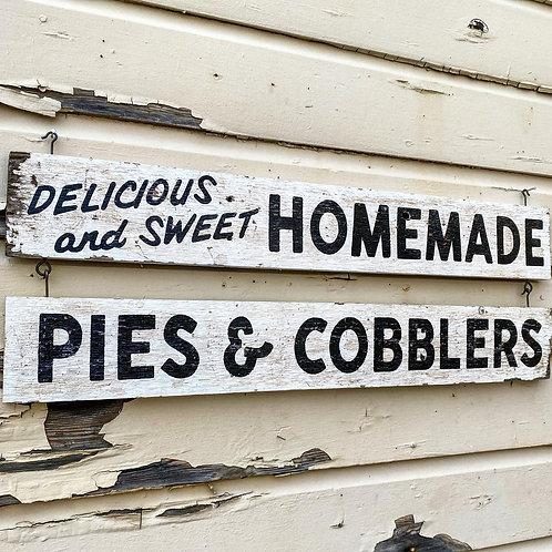 Homemade Pies & Cobbler