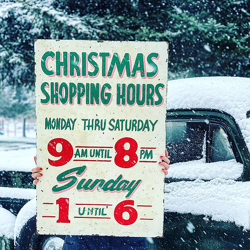 Christmas Shopping Hours