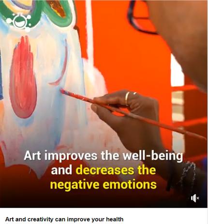 Arte auxilia a conquistar o bem estar e reduz emoções negativas