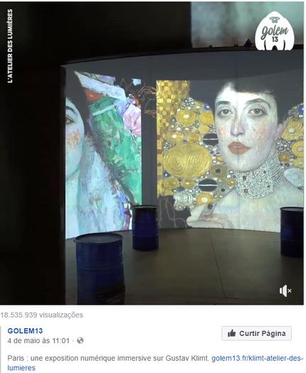 Gustav Klimt - Exposição em Paris