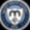 Matrix USA Shield-BIG M-round-Navy-White