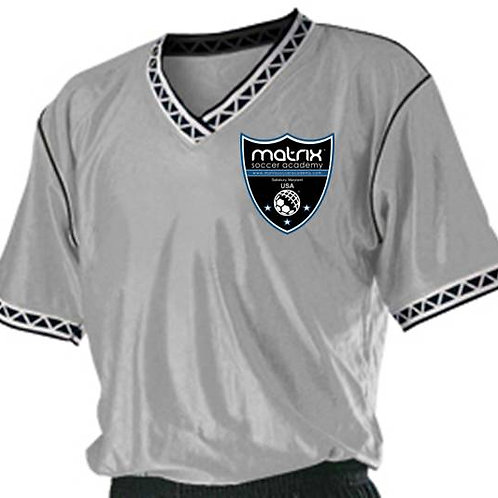 Matrix Alleson Soccer Jersey - Silver