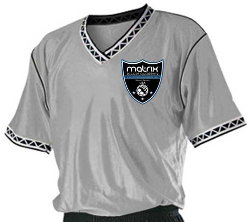 d650d8726d3b Matrix Alleson Soccer Jersey - Silver