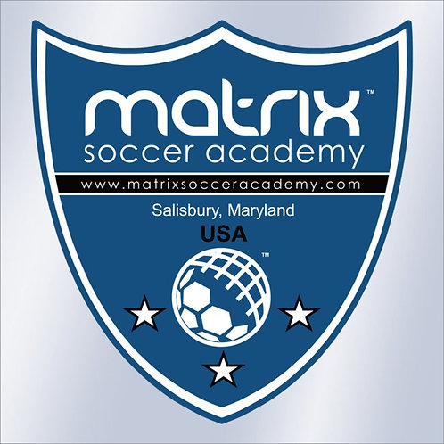 Matrix Soccer Academy Window Decal