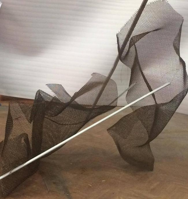 unstable balance sculpture