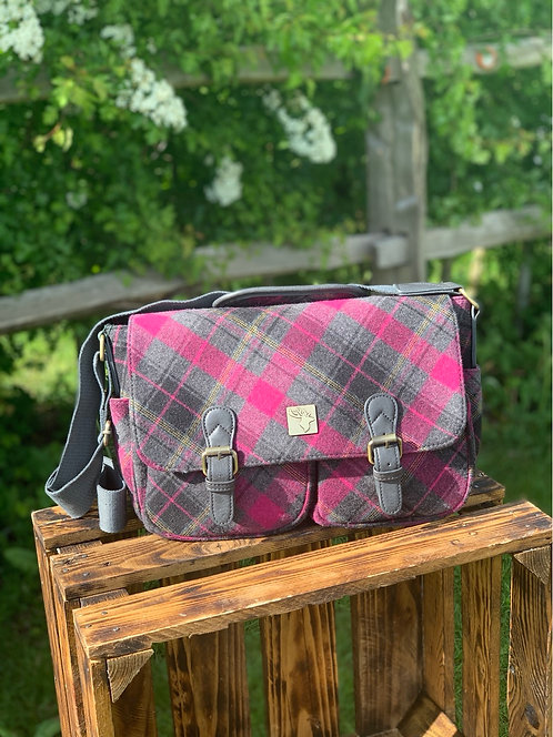 House Of Tweed Large Satchel Bag click for more colours