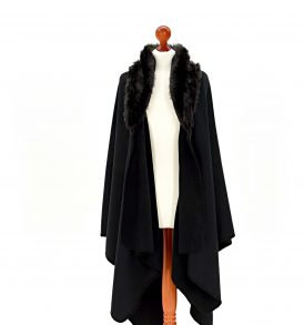 TweedMill Ruana Black / Black Bear