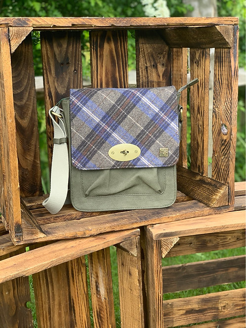 House Of Tweed Messenger Bag click for more colours