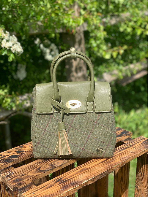 House Of Tweed 3 in 1 Tassel Bag click for more colours