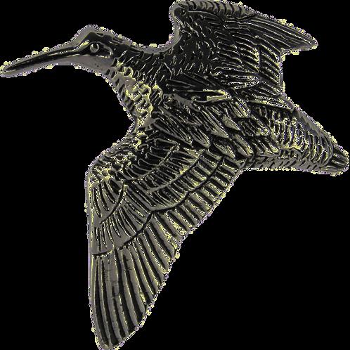 Jack Pyke Pin Badge Woodcock