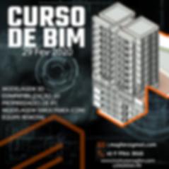 Curso de modelagem BIM