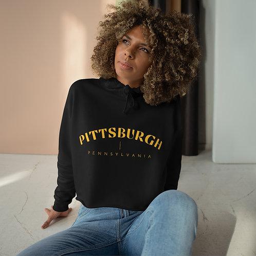 Pittsburgh Crop Hoodie