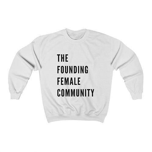 Founding Female Crewneck Sweatshirt