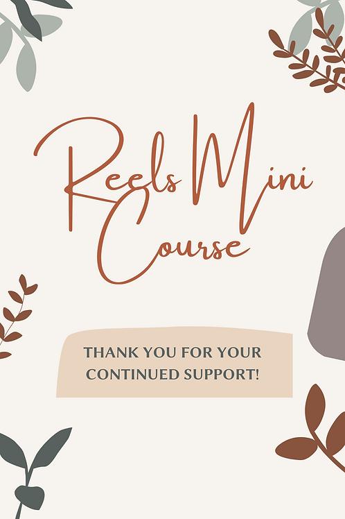Reels Mini Course