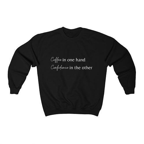 Coffee & Confidence Crewneck Sweatshirt