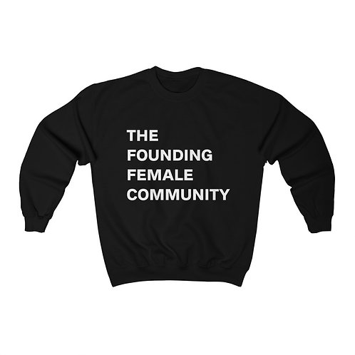 The Founding Female Crewneck