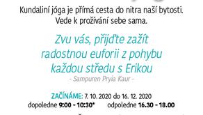 Kundaliní jóga s Erikou   STŘEDA   16:30-18:00h