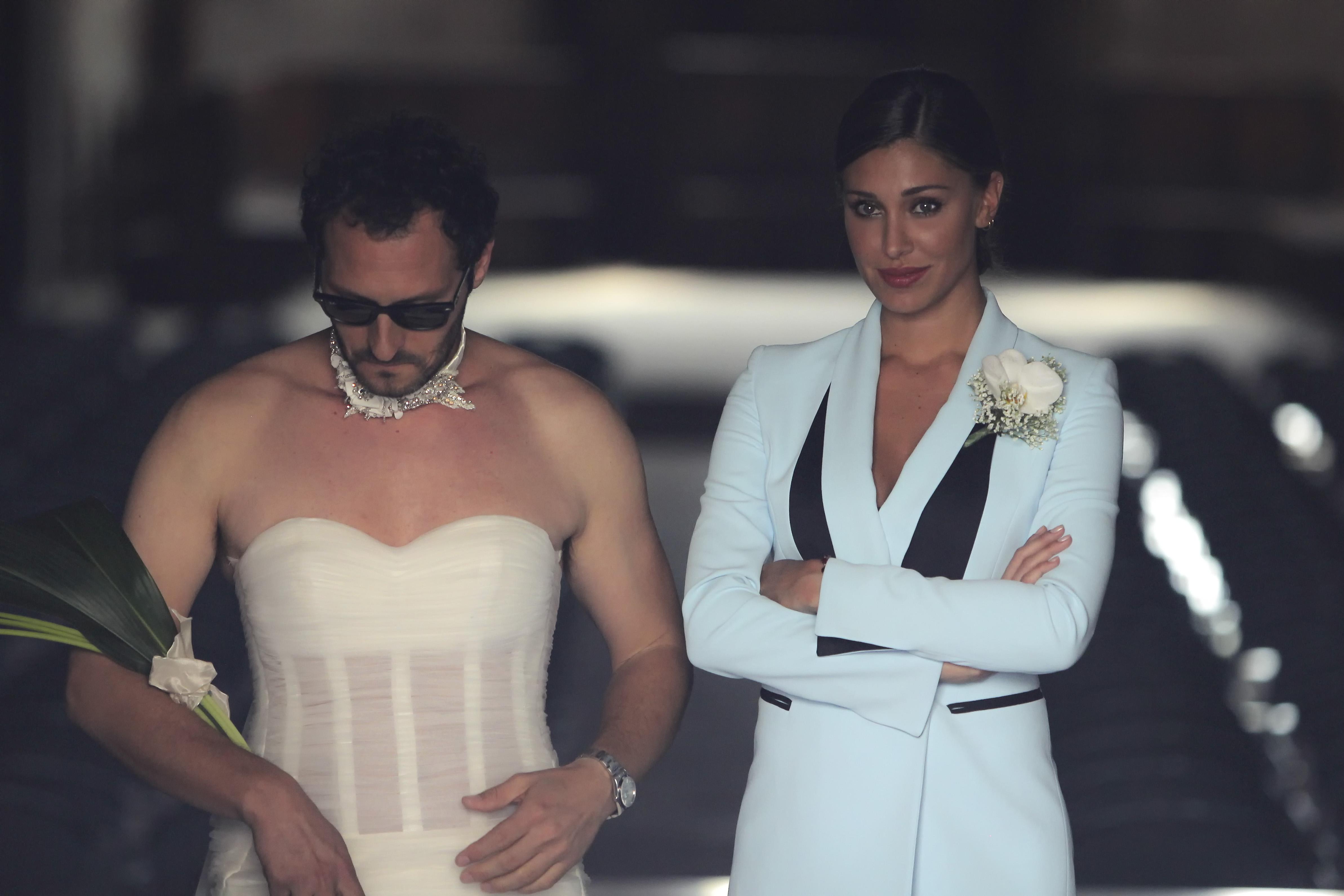 Fabio Troiano e Belen Rodiguez