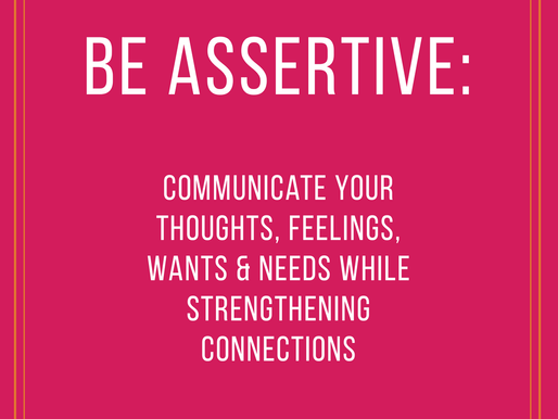 Assertiveness - do you struggle with it?
