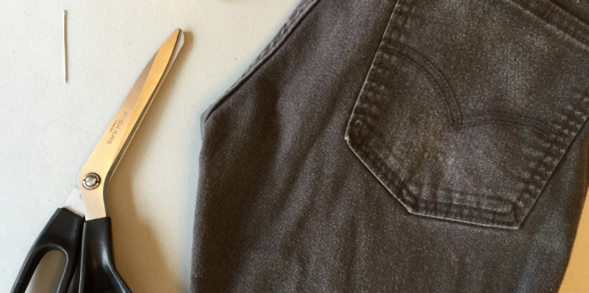 Make Your Own Bag from Old Jeans
